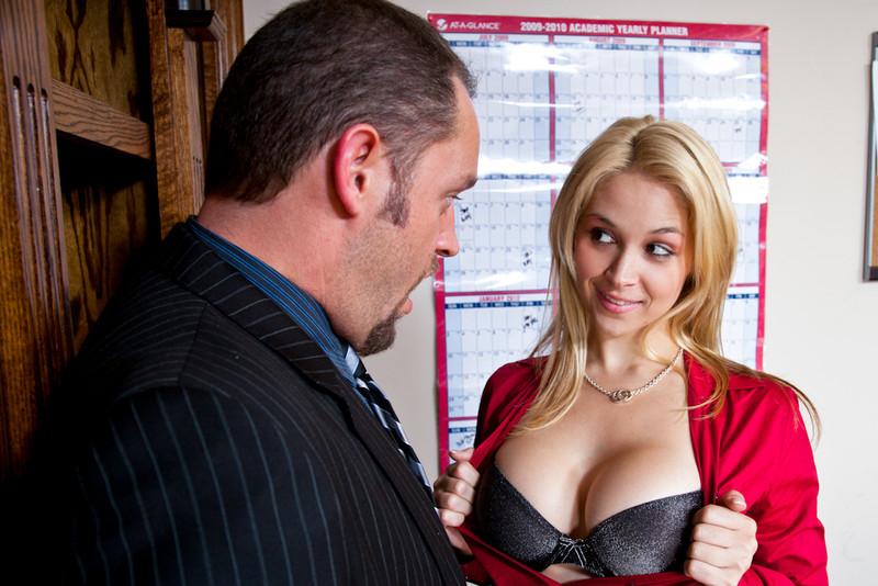 office naughty Sarah porn vandella