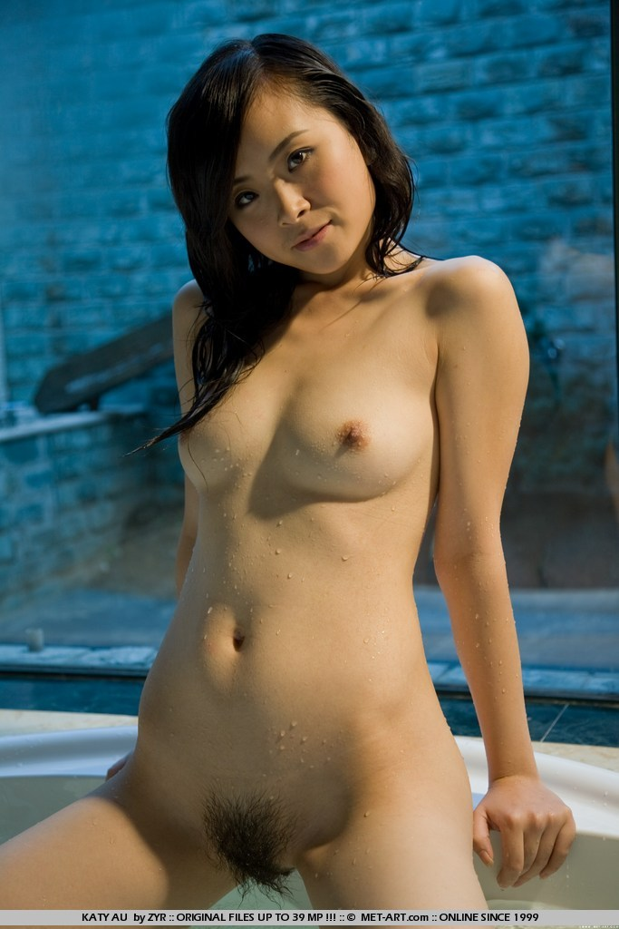 Asian nude japanese girl wet